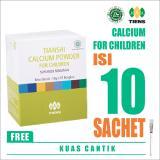 Diskon Produk Tiens Calcium Powder For Children Free Kuas Masker Kalsium Anak Tianshi Susu Peninggi Pertumbuhan Badan 1 Box Isi 10 Sachet