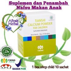Tiens Calcium Powder for Children - Kalsium Anak Ori Tianshi - Susu Peninggi Pertumbuhan Badan - 1 Box isi 10 Sachet By Afiyah Herbal
