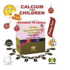 Tiens Calcium Powder for Children - Kalsium Anak Ori Tianshi - Susu Peninggi Pertumbuhan Badan - 1 Box isi 10 Sachet  ,by LIMAN GROUP