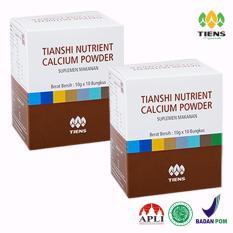 Review Tiens Calsium Nutrient Powder 2 Box Jawa Timur