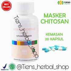 Review Pada Tiens Chitin Chitosan Capsules Detox Herbal Pelangsing Tianshi Ori Masker Perawatan Kulit Berminyak Free Kuas Masker Free Member Card