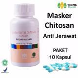 Tiens Chitosan Masker Anti Jerawat Paket Promo 10 Kapsul Gratis Kartu Diskon Tuj Tiens Diskon 50