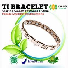 Beli Barang Tiens Gelang Kesehatan Efektif Melawan Radiasi Handphone Ti Bracelet Glaring Golden Woman 179Mm Tiens All Healthy Online