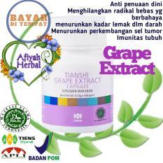 Review Tiens Grape Extract Imunitas Tubuh Asam Urat Hipertensi Darah Tinggi 1 Botol Isi 60 Kapsul By Afiyah Herbal