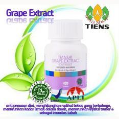 Beli Tiens Herbal Grape Extract Pengobat Jantung Koroner Penutrisi Otak Serta Anti Penuaan Dini By Silfa Shop Cicilan