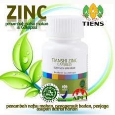 Toko Tiens Herbal Penambah Nafsu Makan Penggemuk Badan Zinc Isi 60 Kapsul By Toko Nikmatiens Free Ongkir Termurah Indonesia