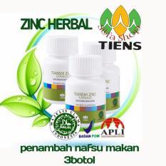 Toko Tiens Herbal Penambah Nafsu Makan Zinc Penggemuk Badan 3 Botol By Silfa Shop Termurah