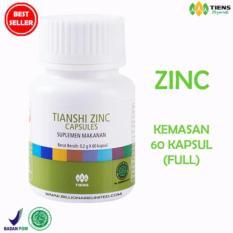 TIENS HERBAL PENGGEMUK BADAN DAN KECERDASAN ANAK 60 capsules promo zinc (MURAH)