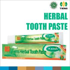 Tiens Herbal Toothpaste + FREE SIKAT GIGI - Pasta Gigi Gusi - Odol Ori Tianshi - Tooth Paste - Toothbrush - Tooth Brush