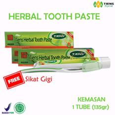 Harga Tiens Herbal Toothpaste Pasta Gigi Alami Herbal Baru