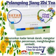 Jual Tiens Jiang Zhi Tea 2 Paket Teh Herbal Penghancur Lemak Yang Membandel Manjur By Afiyah Herbal Tiens