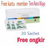 Harga Tiens Jiang Zhi Tea Kemasan Ekonomis 20 Sachet Original Tiens By Tiens Ratna Wijaya Free Kartu Member Tiens Ratna Wijaya Asli Tiens