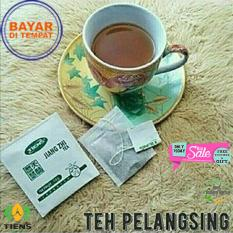 Tiens Jiang Zhi Tea - Original 100%- Pelangsing Herbal - Penghancur Lemak - Asam Urat Kemasan 20 Sachet (MURAH) + Free Member Card Toko By Best Gallery Herbal 01