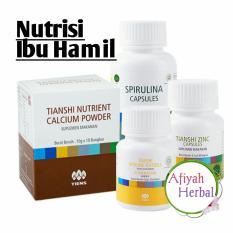 Tiens Paket Nutrisi Ibu Hamil Menyusui Nutrisi Bagi Janin Dan Bayi Vitaline Spirulina Zinc Calsium By Afiyah Herbal Free Konsultasi Free Gift Tiens Murah Di Jawa Timur