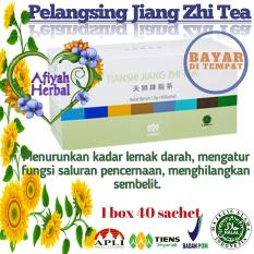 Tiens Jiang Zhi Tea - Teh Herbal Penghancur Lemak yang Membandel Manjur by Afiyah Herbal