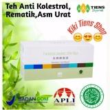 Diskon Tiens Jiang Zhi Tea Teh Hijau Tianshi Pelangsing Herbal Penghancur Lemak Asam Urat 1 Box Isi 40 Sachet By Kiki Tiens Shop