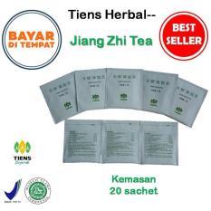 Tiens Jiang Zhi Tea / Teh Obat Herbal Asam Urat & Kolesterol / Paket Hemat 20 Sachet + Gratis Member Card TH--