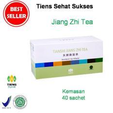 Spesifikasi Tiens Jiang Zhi Tea Teh Obat Herbal Asam Urat Kolesterol Paket Hemat 40 Sachet Gratis Kartu Diskon Toko Tss Tiens Terbaru