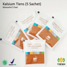 Harga Tiens Kalsium Nhcp Tiens Nutrient Calcium Powder 5 Sachet Lengkap