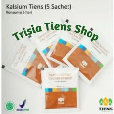 Tiens Kalsium Nutrient Calcium Powder 5 Sachet Free Member Card Trisia Tiens Shop Tiens Murah Di Indonesia