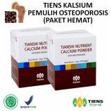 Review Tiens Pemulih Osteoporosis Paket Hemat 2 Calcium Free Membercard Th Terbaru
