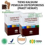 Toko Tiens Kalsium Pemulih Osteoporosis Paket Hemat Happy Sehat Selalu Dekat Sini