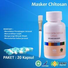 Beli Tiens Masker Anti Jerawat Herbal Chitosan Paket 20 Kapsul Promo Jawa Timur
