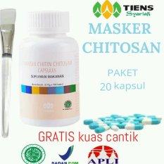 Harga Tiens Masker Chitin Herbal Promo Gratis Kuas