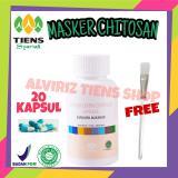 Jual Alviriz Tiens Shop Masker Chitosan Anti Jerawat Isi 20 Kapsul Gratis Kuas Masker Cantik Online Di Jawa Timur