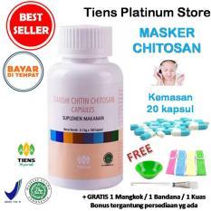 Harga Masker Chitosan Anti Jerawat Tiens Paket Promo 20 Kapsul Gratis Gift Kartu Diskon Tiens Platinum Store Tiens Original