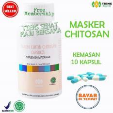 Tiens Masker Chitosan Herbal Anti Jerawat Paket 10 Kapsul Promo Tiens Diskon