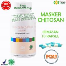 Spesifikasi Tiens Masker Chitosan Herbal Anti Jerawat Paket 10 Kapsul Promo Murah Berkualitas