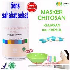 Toko Tiens Masker Chitosan Herbal Anti Jerawat Paket 100 Kapsul Terlengkap Indonesia