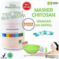 Toko Tiens Masker Chitosan Herbal Anti Jerawat Paket 100 Kapsul Dekat Sini
