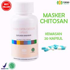 Toko Tiens Masker Chitosan Herbal Anti Jerawat Paket 20 Kapsul Tiens Indonesia