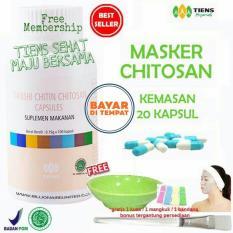 Harga Tiens Masker Chitosan Herbal Anti Jerawat Paket 20 Kapsul Termahal