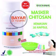 Jual Tiens Masker Chitosan Herbal Anti Jerawat Paket 20 Kapsul Ori