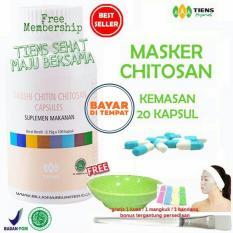 Jual Beli Tiens Masker Chitosan Herbal Anti Jerawat Paket 20 Kapsul Free Kuas Baru Jawa Timur
