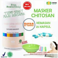 Review Tentang Tiens Masker Chitosan Herbal Anti Jerawat Paket 25 Kapsul