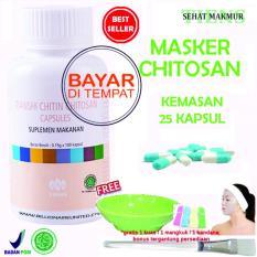Jual Tiens Masker Chitosan Herbal Anti Jerawat Paket 25 Kapsul Murah Jawa Timur