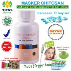 Jual Tiens Masker Chitosan Herbal Anti Jerawat Paket 75 Kapsul Gratis Kuas By Tiens Happy Sehat Selalu Branded Original