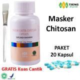 Tiens Masker Chitosan Herbal Paket 20 Kapsul Promo Tiens Diskon