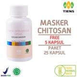 Diskon Tiens Masker Chitosan Herbal Paket 25 Kapsul Promo Jawa Timur