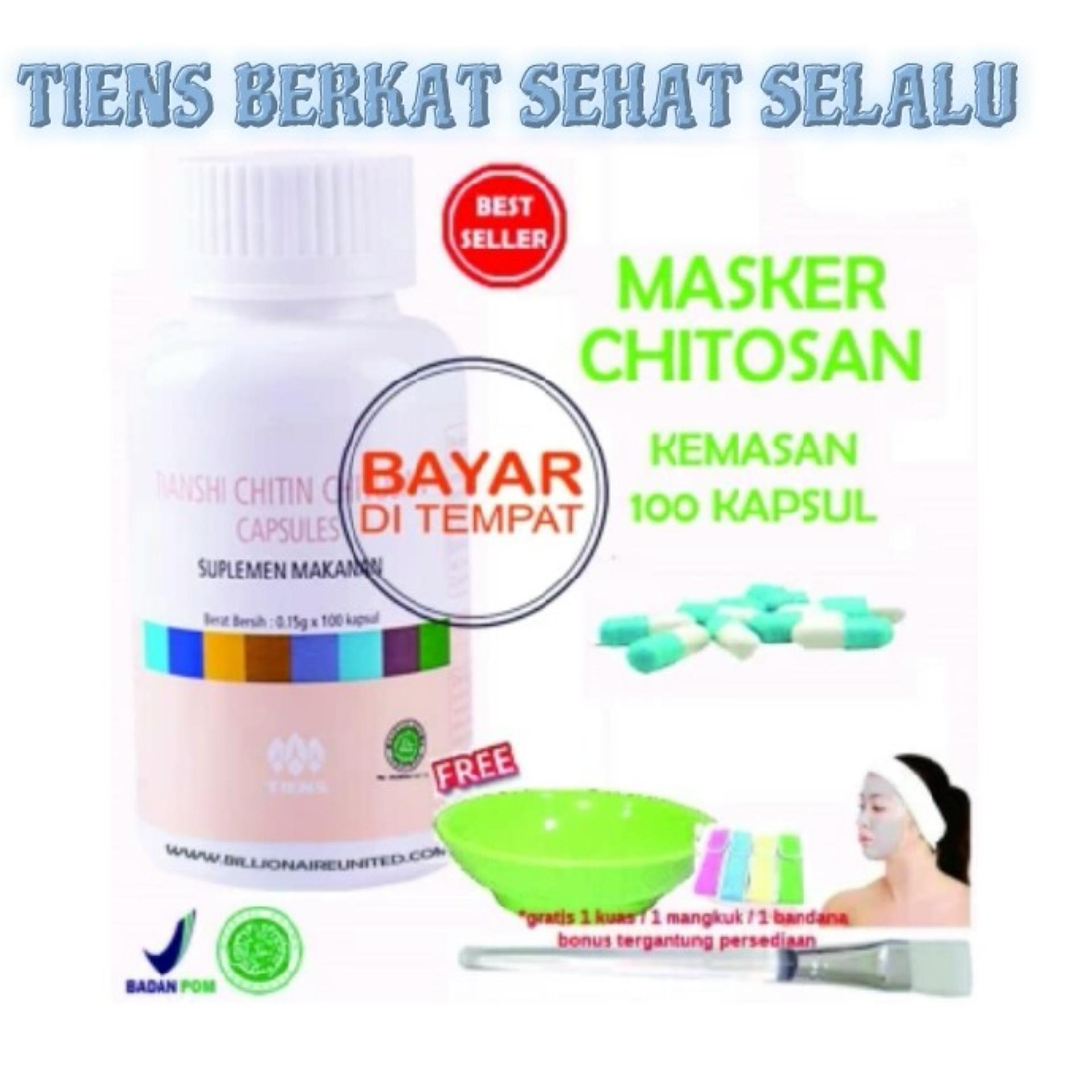 Hemat Masker Wajah Spirulina Herbal Tiens 10 Kapsul Obat Jerawat Kuas Mencerahkan Anti Paket 100 Gratis Bandana