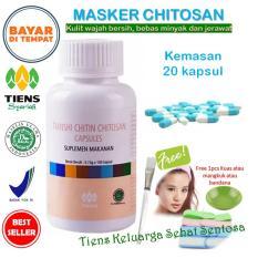 Tiens Masker Herbal Chitosan Anti Jerawat Paket 20 Kapsul Tiens Diskon 50