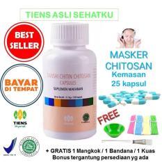 Jual Beli Tiens Masker Herbal Chitosan Anti Jerawat Paket Sub 25 Kapsul Free Kuas Di Indonesia