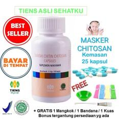Spesifikasi Tiens Masker Herbal Chitosan Anti Jerawat Paket Sub 25 Kapsul Free Kuas Tiens