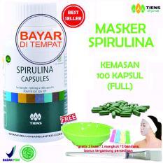 Beli Tiens Masker Herbal Pemutih Wajah 100 Kapsul Online Terpercaya