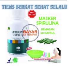 Beli Tiens Masker Herbal Pemutih Wajah Tiens Berkat Sehat Selalu Paket 50 Kapsul Gratis Kuas Bandana Mangkuk Cepuk Murah