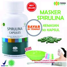 Spesifikasi Tiens Masker Herbal Pemutih Wajah Paket 50 Kapsul Gratis Hadiah Random By Tiens Sehat Bugar Dan Harganya